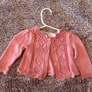 Adorable pink sweater 3 months